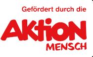 Logo AktionMensch Förderung